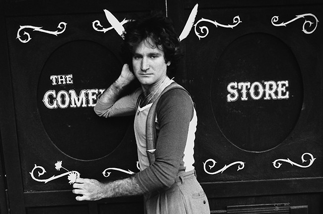 Robin Williams at the Comedy Store