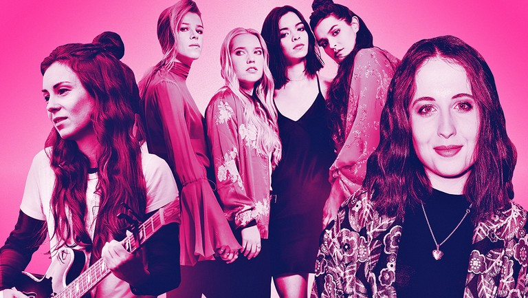 <p>From left: Amy Shark, The Aces &amp&#x3B; Alice Merton</p>