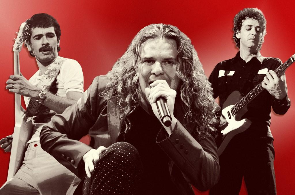 Carlos Santana, Gustavo Cerati & Fher