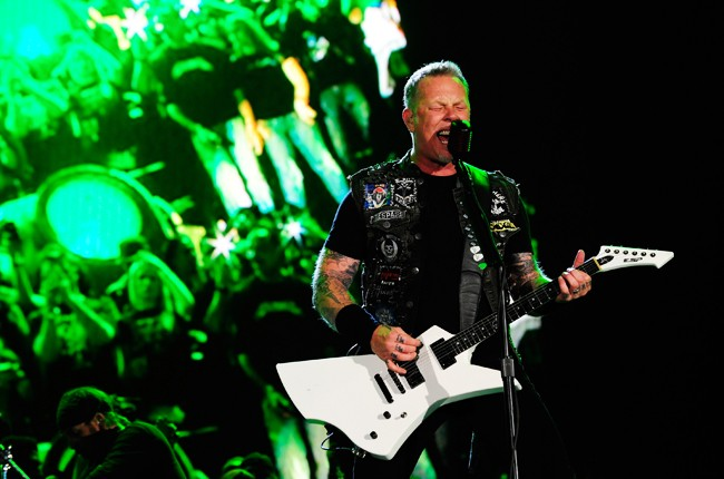 Metallica performs during Rock in Rio USA
