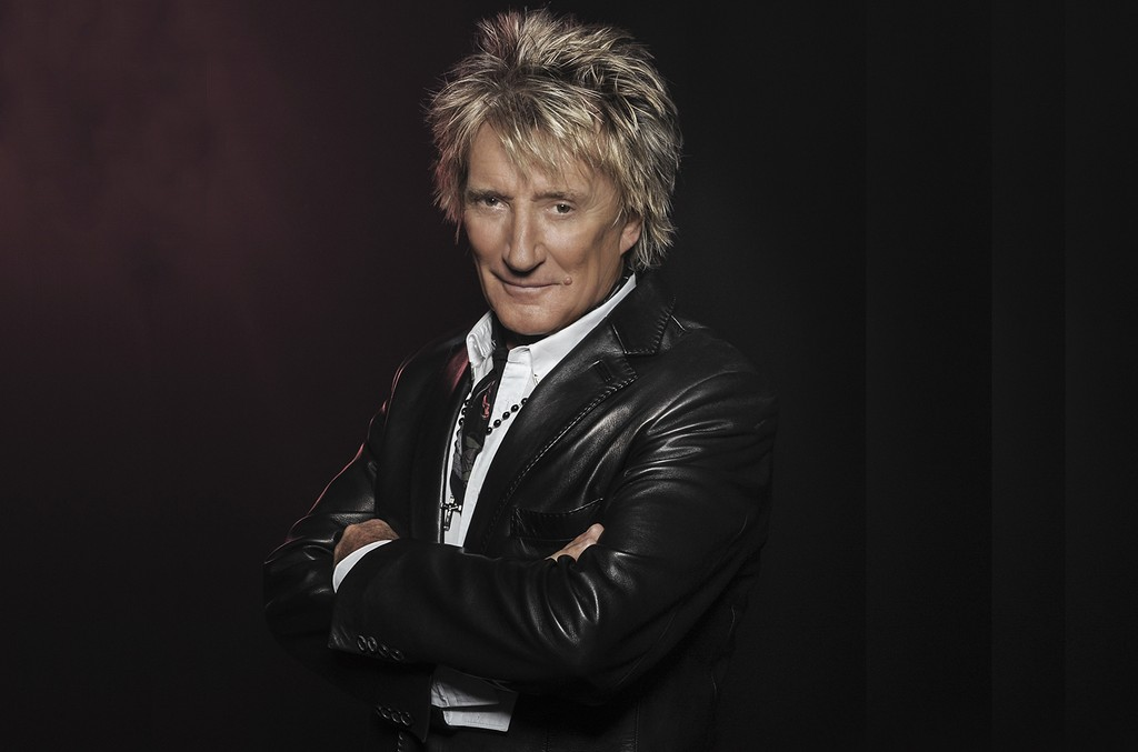 Rod Stewart photographed in 2015.