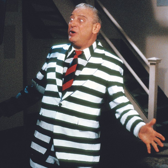 Rodney Dangerfield, 1984.