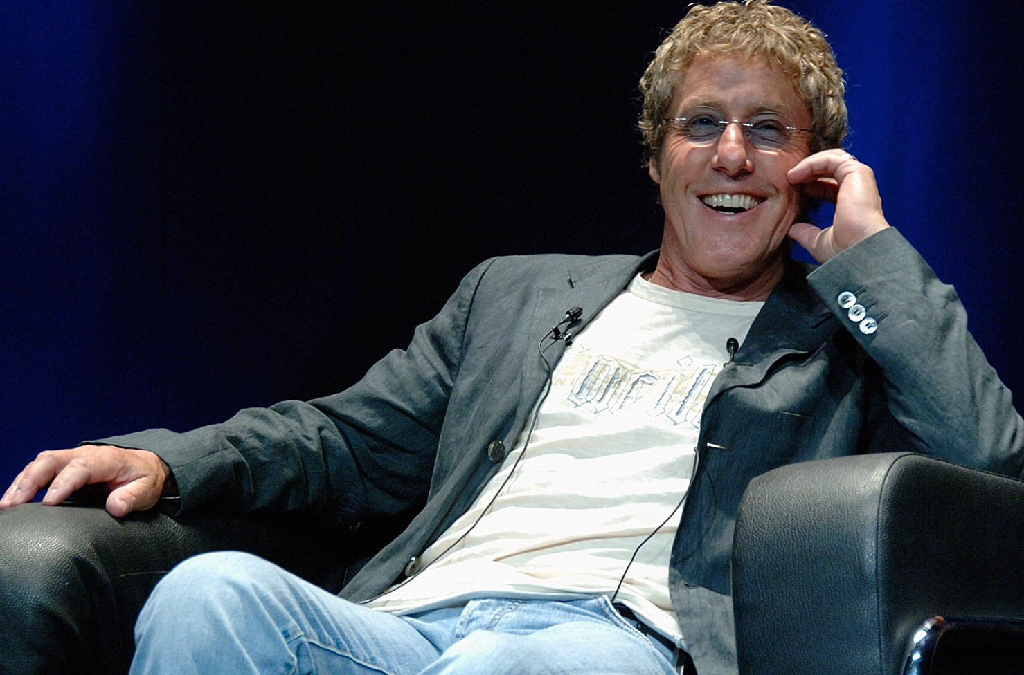 The Who Roger Daltrey attends the 56th Cannes Lions International Advertising Festival on June 25, 2009 in Cannes, France.