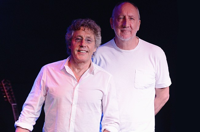 The Who for The 50th Anniversary of the band