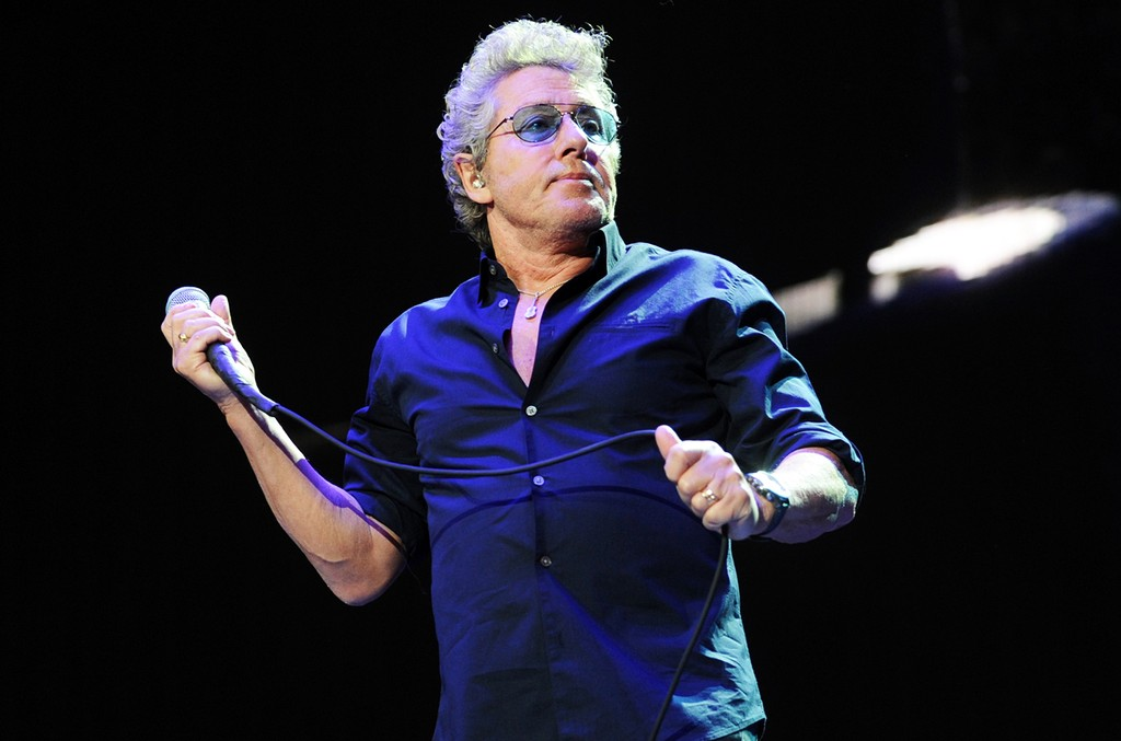 Roger Daltrey of The Who performs  during Desert Trip at The Empire Polo Club on Oct. 16, 2016 in Indio, Calif.