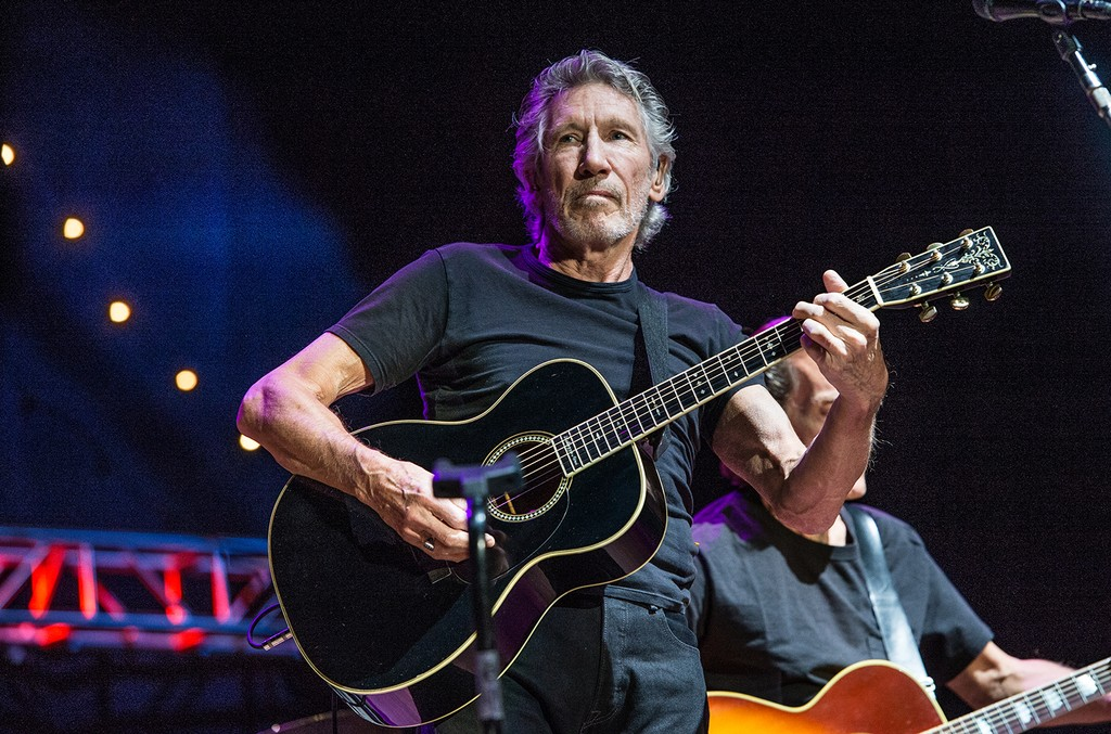 Roger Waters performs at the 30th Annual Bridge School Benefit Concert at the Shoreline Amphitheater on Oct. 23, 2016, in Mountain View, Calif.
