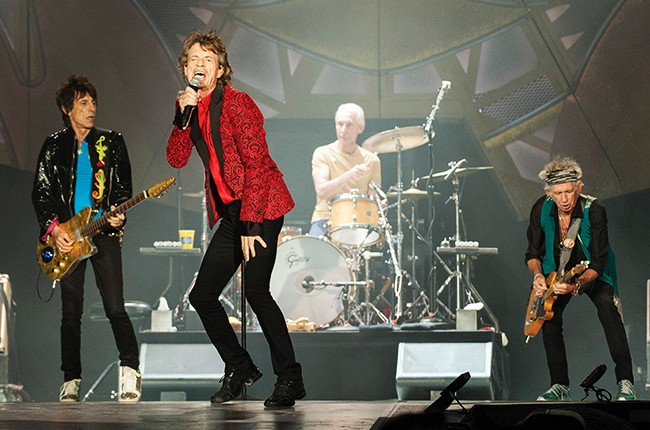 Rolling Stones perform at the Indianapolis Motor Speedway on Saturday, July 4, 2015