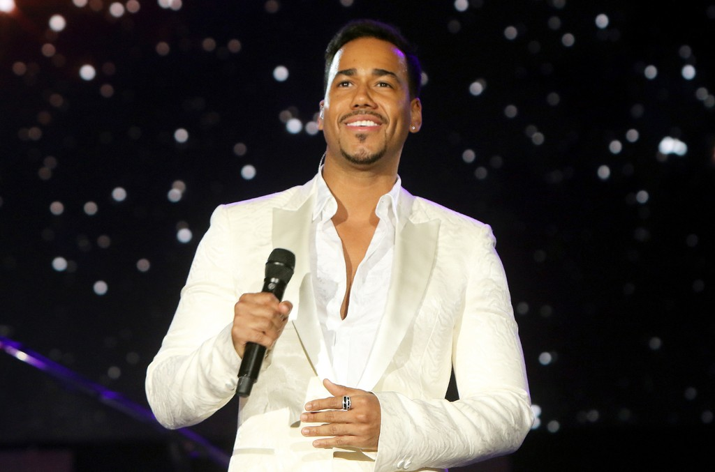 Romeo Santos performs onstage during the 2015 Latin Grammy Person of the Year honoring Roberto Carlos at the Mandalay Bay Events Center on Nov. 18, 2015 in Las Vegas.