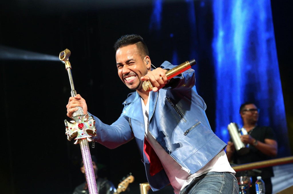 Romeo Santos performs at Barclays Center on July 12, 2015, in New York City.
