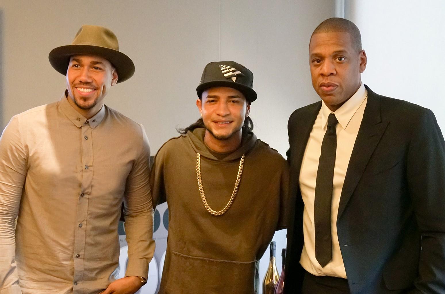 Romeo Santos, Mozart La Para and Jay Z