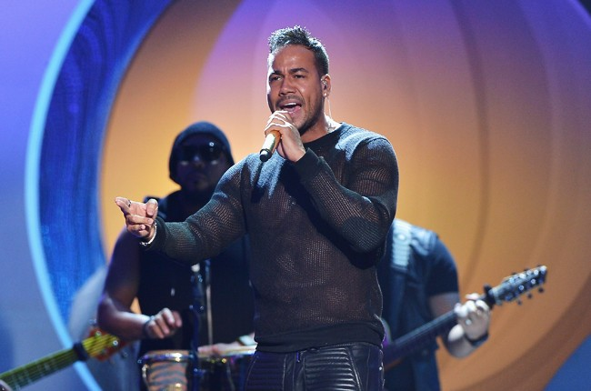 Romeo Santos performs onstage at the 2015 Billboard Latin Music Awards