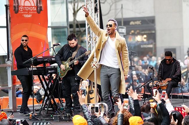 "Romeo Santos performs on NBC's ""Today"""