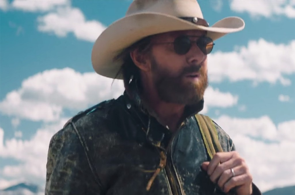 """Ronnie Dunn in the video for """"Damn Drunk"""""""