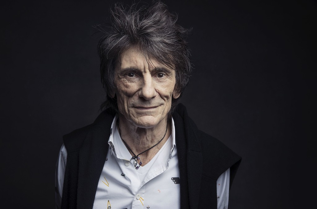 Ronnie Wood of the Rolling Stones