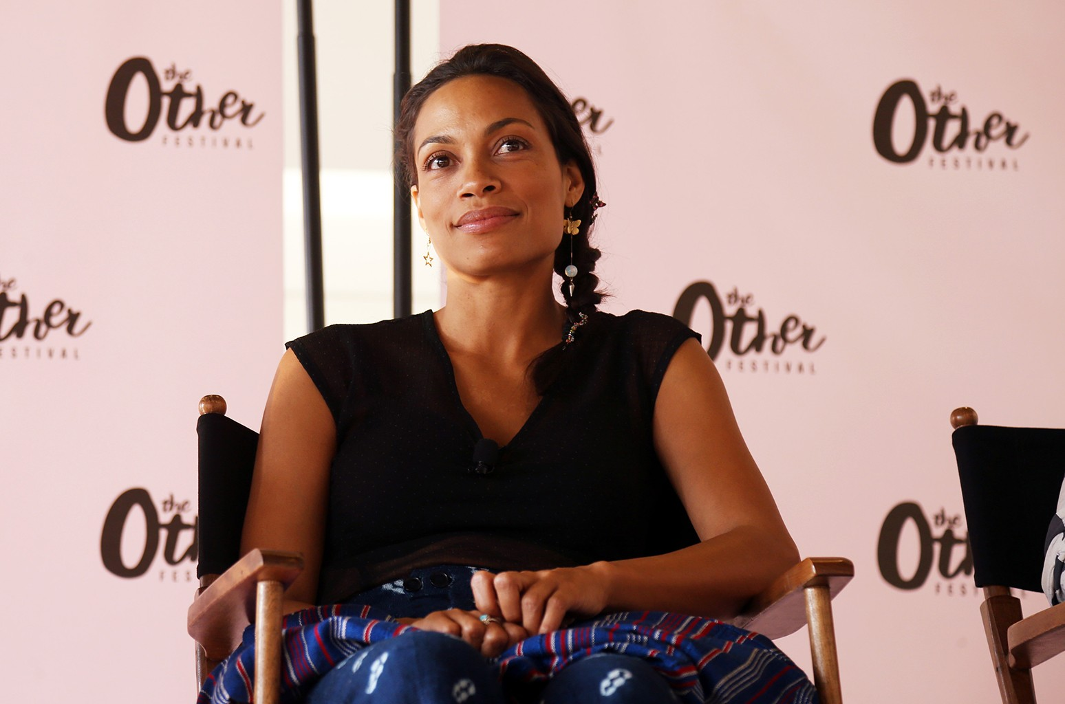 Rosario Dawson appears during The Other Festival