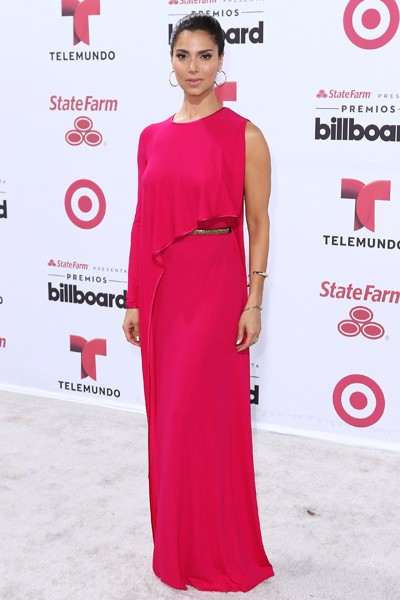 Roselyn Sanchez arrives at 2015 Billboard Latin Music Awards