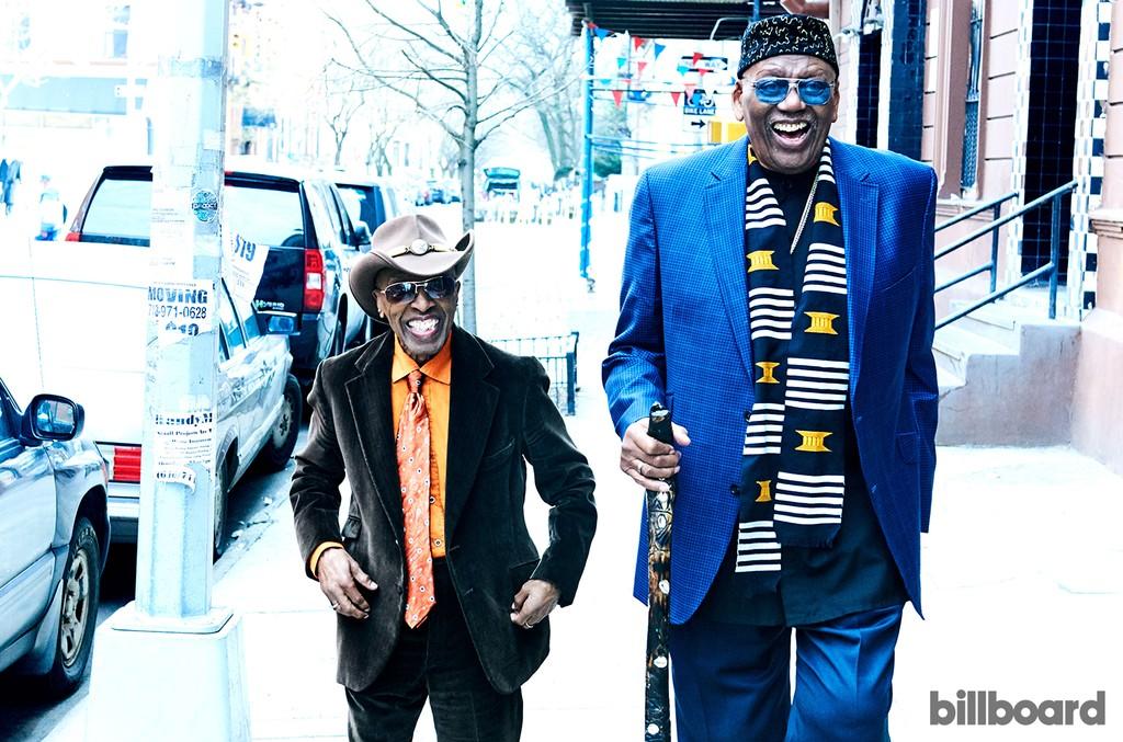 Roy Haynes and Randy Weston photographed on Feb. 28, 2017 in Harlem, New York.