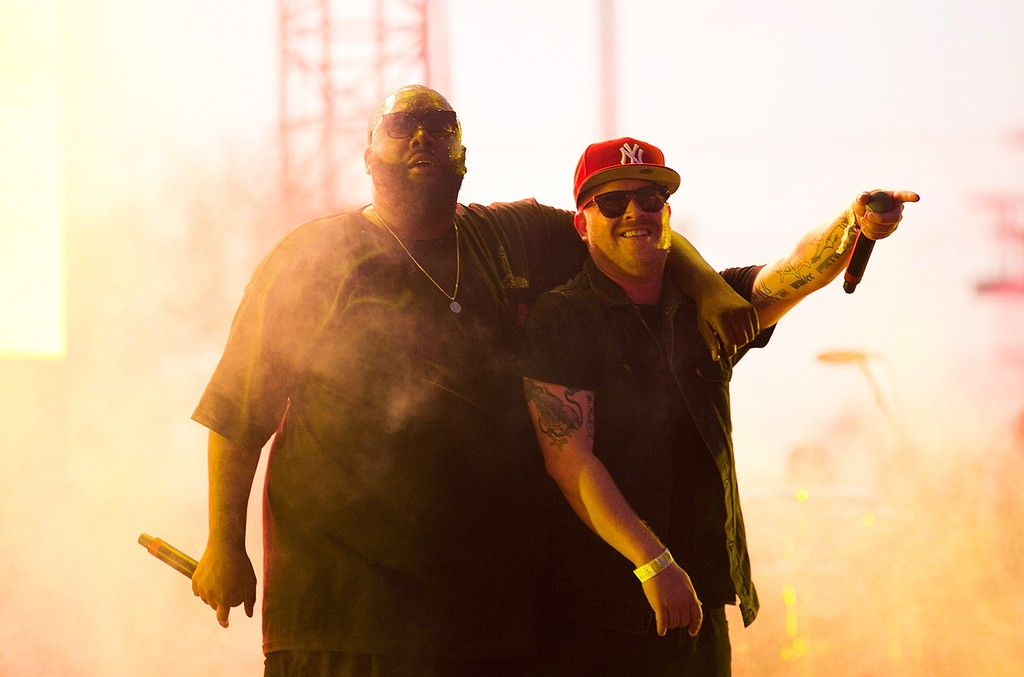Run the Jewels perform at FYF Fest 2015