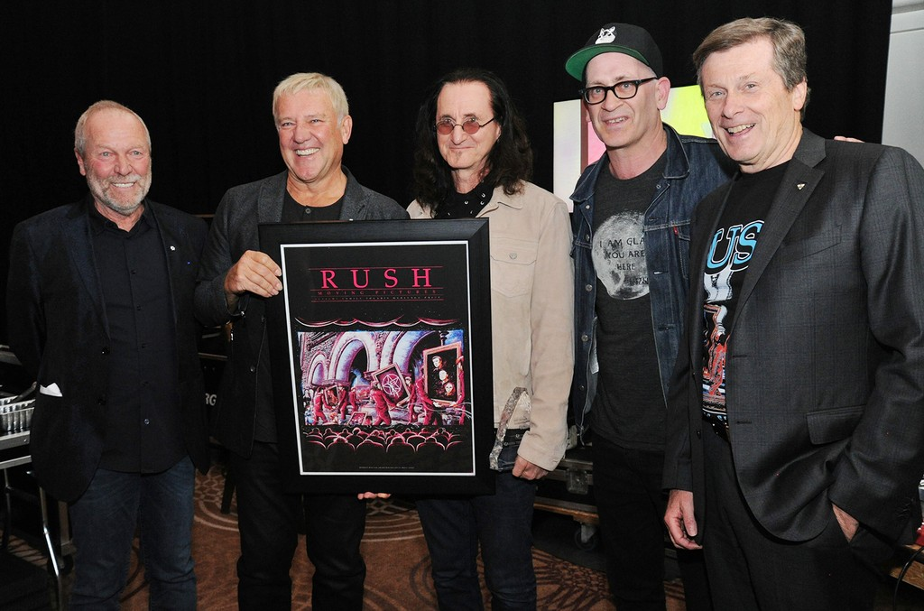 backstage at the Canadian Music and Broadcast Industry Awards held at the Grand Ballroom of the Sheraton Centre in Toronto on April 20, 2017.