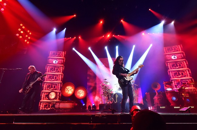Rush perform at the Prudential Center