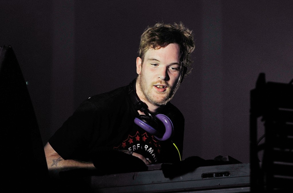 Rusko performs during Electric Zoo 2012 at Randall's Island on Sept. 1, 2012 in New York City.