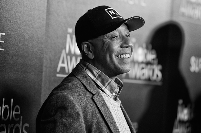 Russell Simmons attends the 3rd Annual Noble Awards at The Beverly Hilton Hotel on February 27, 2015