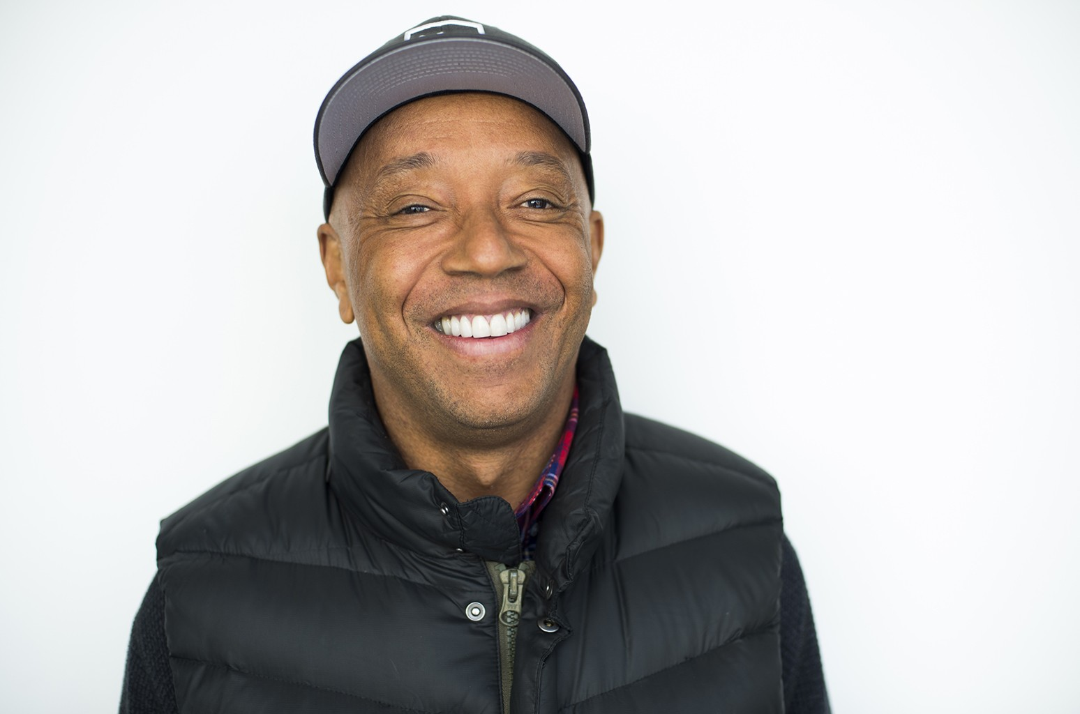 Russell Simmons photographed on Jan. 14, 2016 in New York City.