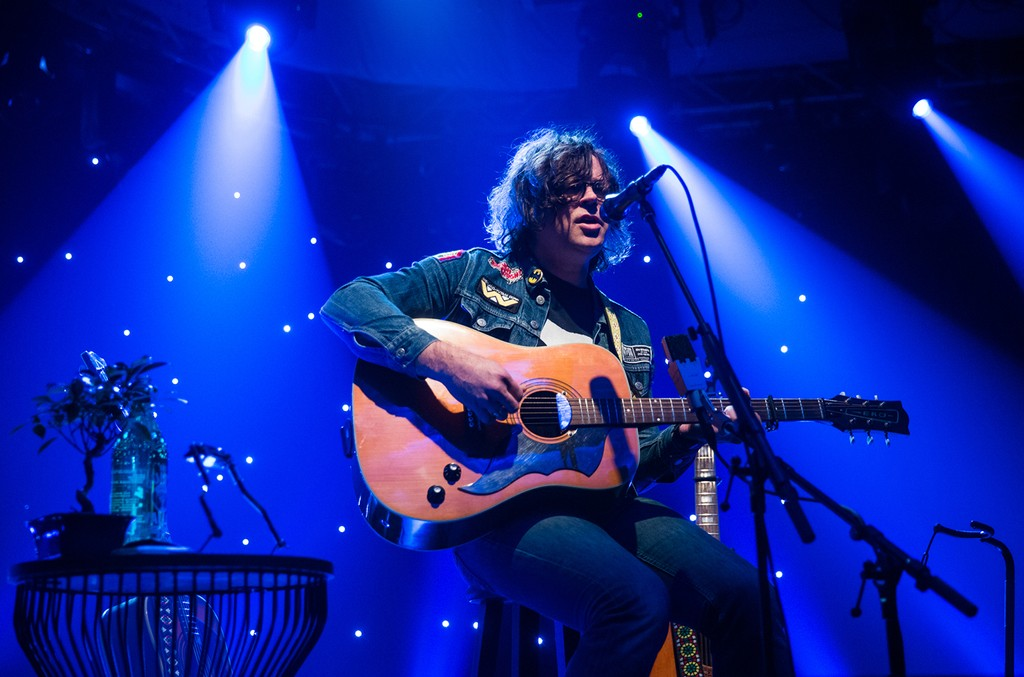 Ryan Adams performs at iHeartRadio LIVE show at the Beacon Theatre on May 4, 2017 in New York City.
