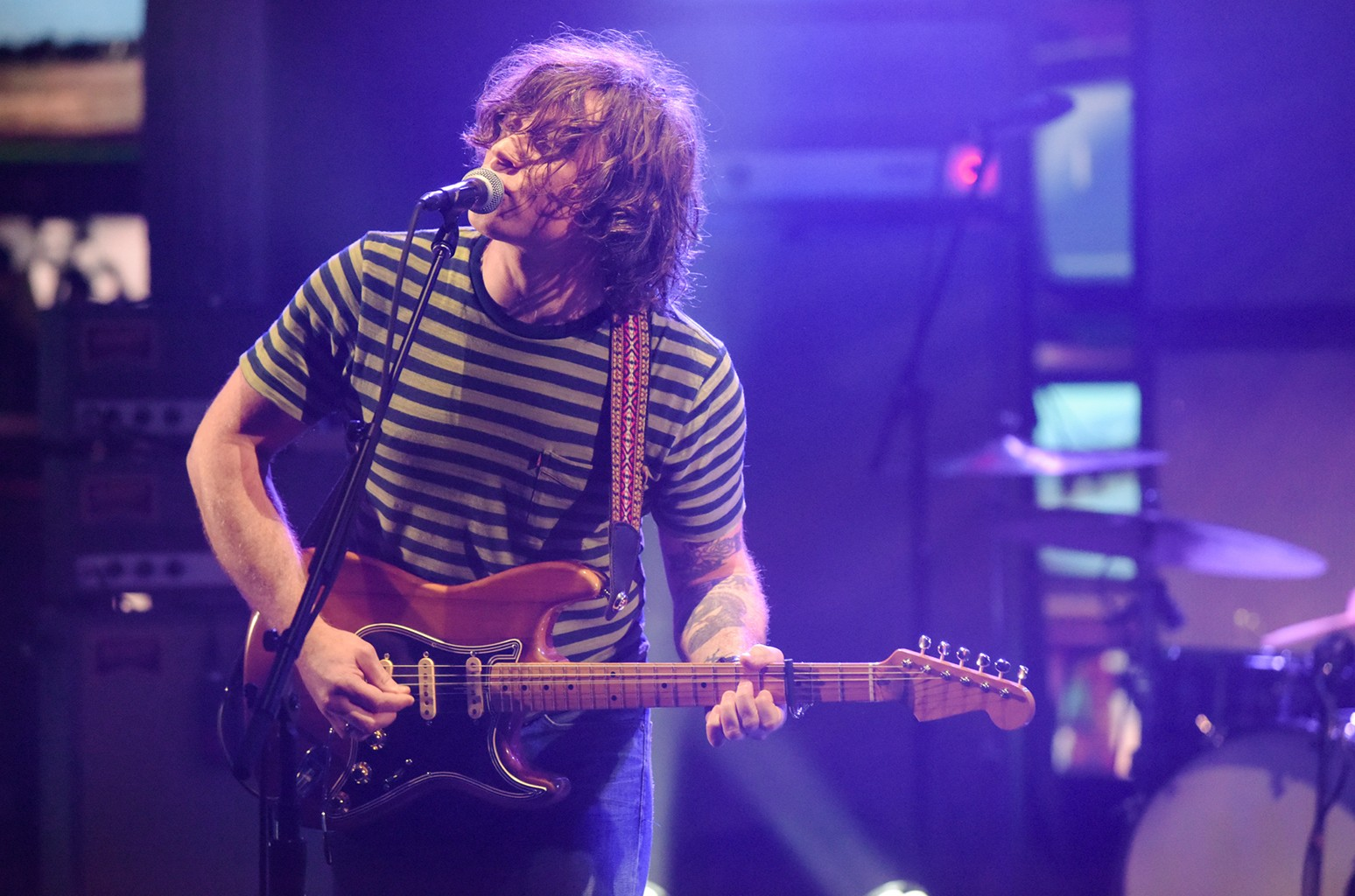 Ryan Adams on The Late Show with Stephen Colbert.