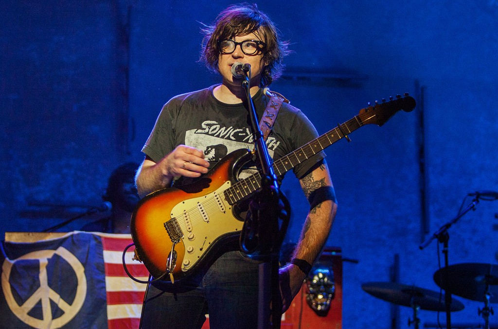 Ryan Adams performs at the Marriott Rewards and Universal Music Present Music is Universal during the South by Southwest Music Festival at JW Marriott Austin on March 16, 2016, in Austin, Texas.