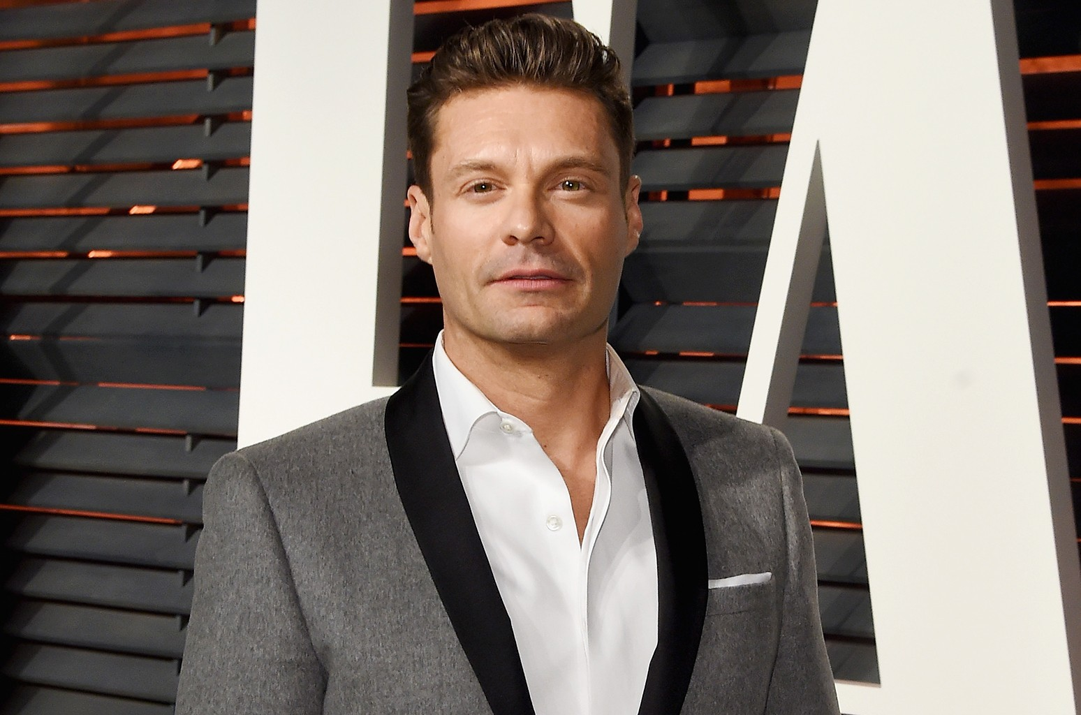 Ryan Seacrest attends the 2016 Vanity Fair Oscar Party Hosted By Graydon Carter at the Wallis Annenberg Center for the Performing Arts on Feb. 28, 2016 in Beverly Hills, Calif.