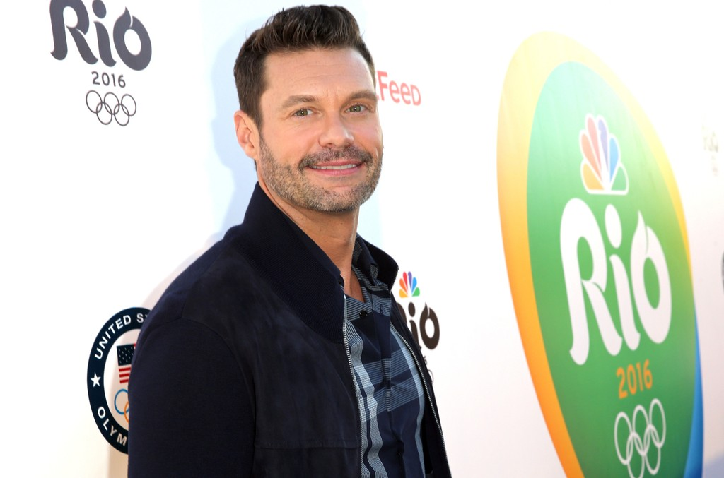 Ryan Seacrest attends the NBC Olympic Social Opening Ceremony