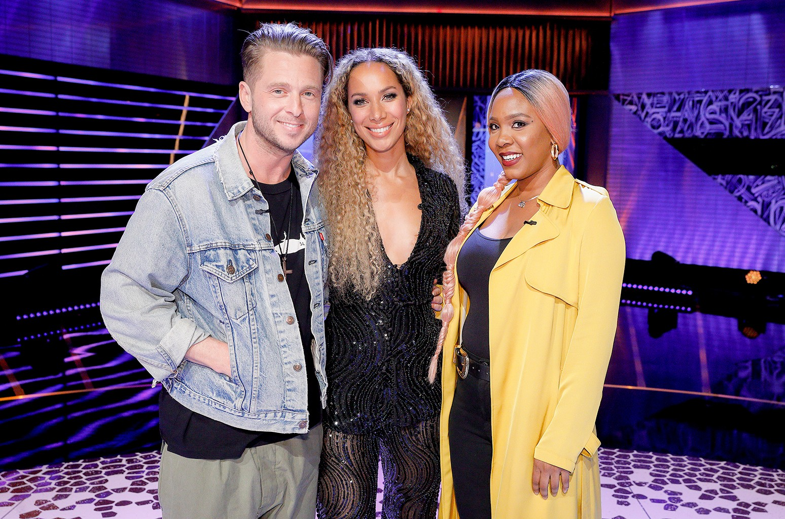 Ryan Tedder, Leona Lewis and Rozee