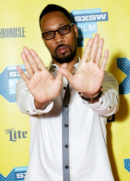 RZA attends the RZA Keynote during the 2015 SXSW