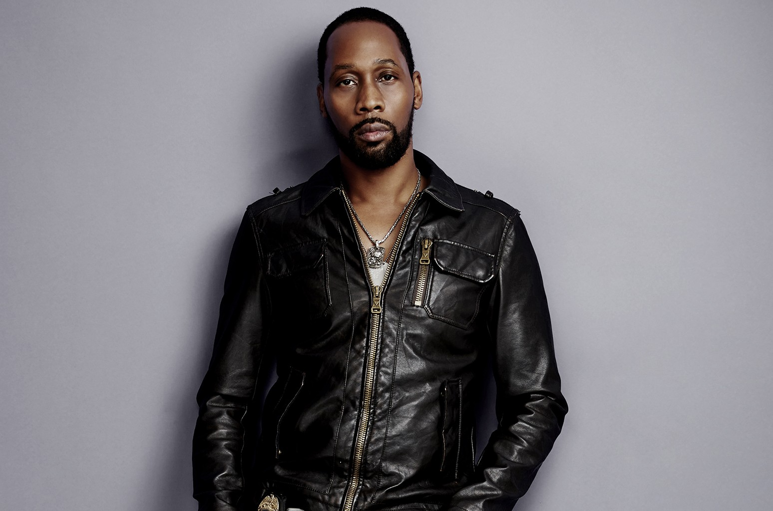 RZA photographed in Los Angeles