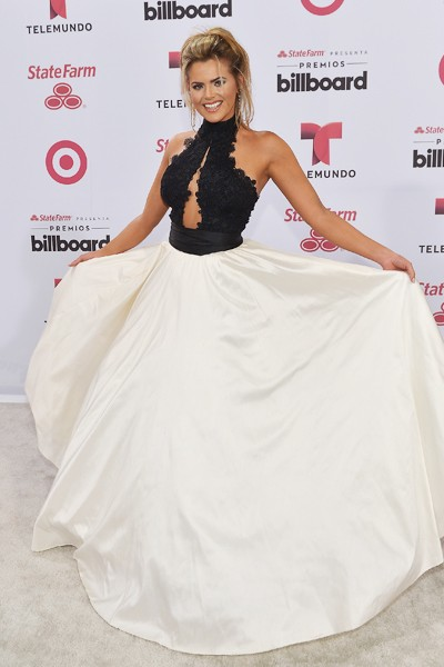 Isabella Castillo arrives at 2015 Billboard Latin Music Awards