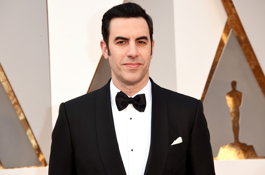 Sacha Baron Cohen Appears to Prank Conservative Rally, Performs Onstage: Watch
