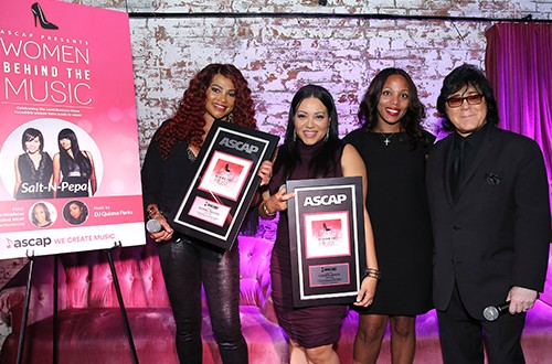 Salt-N-Pepa attend the ASCAP 'Women Behind the Music' party