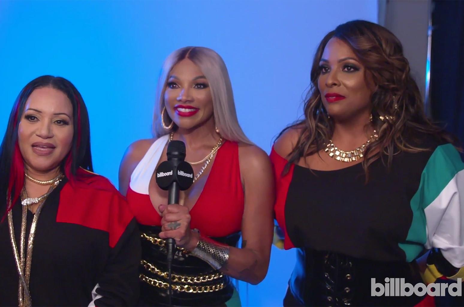 Salt N Pepa At Billboard Music Awards It S Amazing To Know That You Made Timeless Music Billboard Billboard