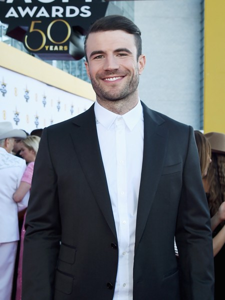 Sam Hunt attends the 50th Academy Of Country Music Awards