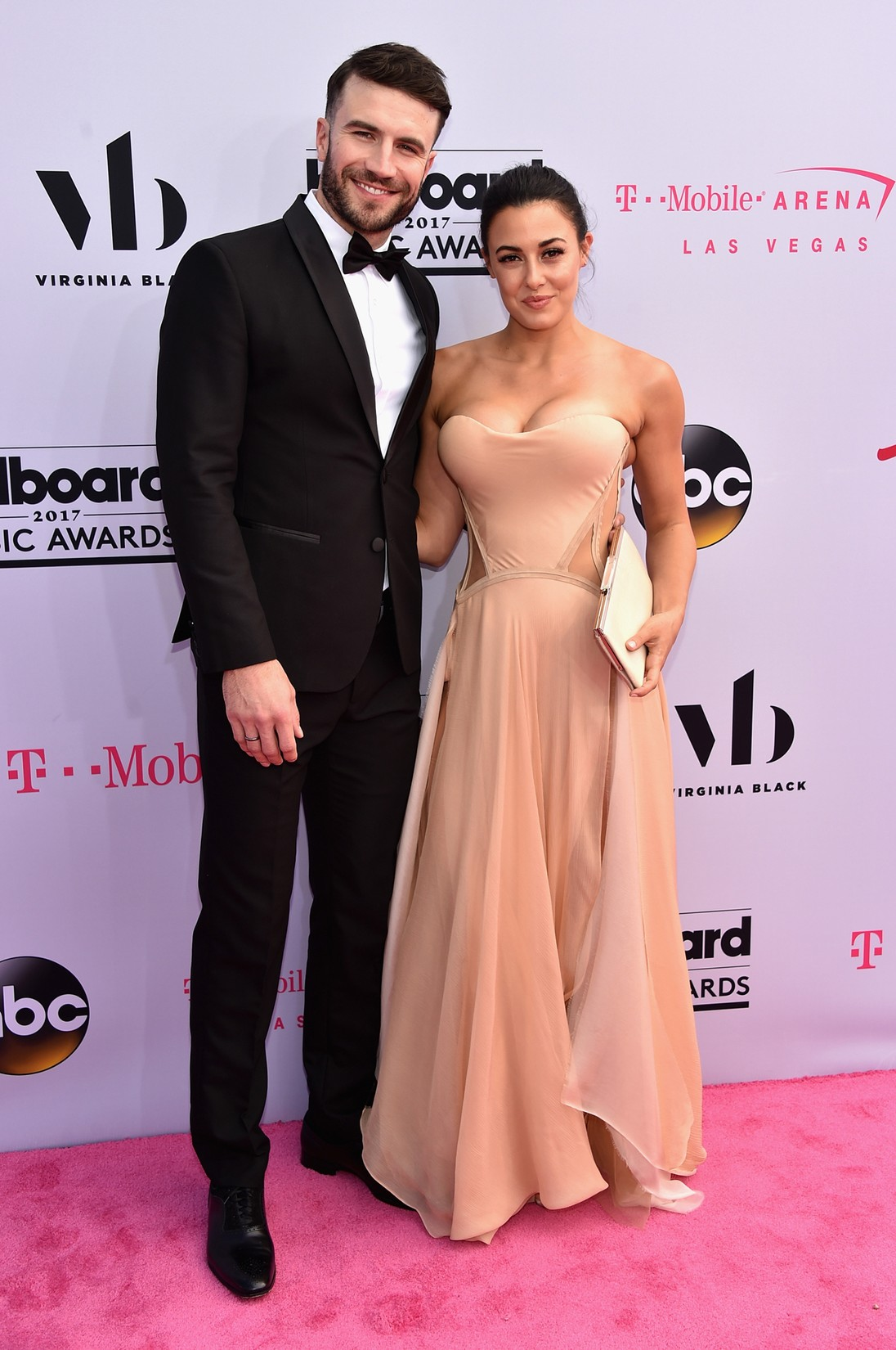 Sam Hunt and Hannah Lee Fowler attend the 2017 Billboard Music Awards at T-Mobile Arena on May 21, 2017 in Las Vegas.