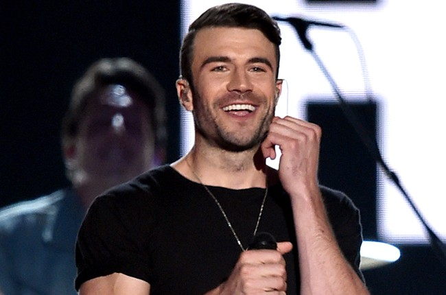 Sam Hunt performs onstage during the 50th Academy Of Country Music Awards