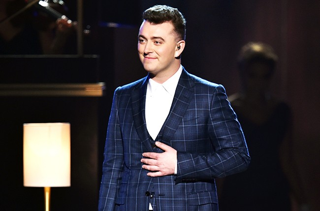Sam Smith performs onstage during The 57th Annual Grammy Awards