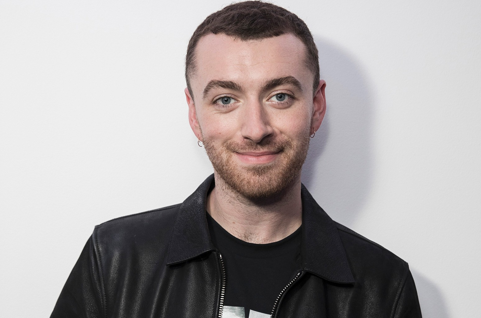 Sam Smith visits the Kiss FM Studio's on Sept. 4, 2017 in London.