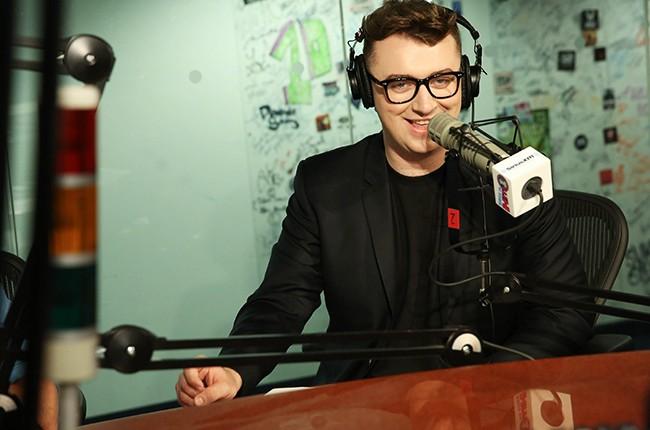 Sam Smith visits at SiriusXM Studios
