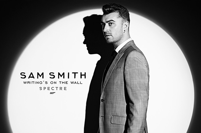 """Sam Smith Spectre """"The Writing's On The Wall 2015"""