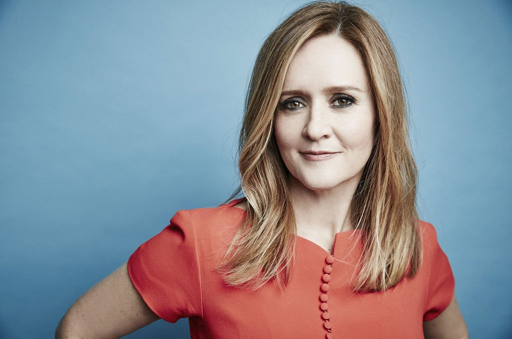 Samantha Bee photographed at the 2016 Winter Television Critics Association press tour at the Langham Hotel on Jan. 7, 2016 in Pasadena, Calif.