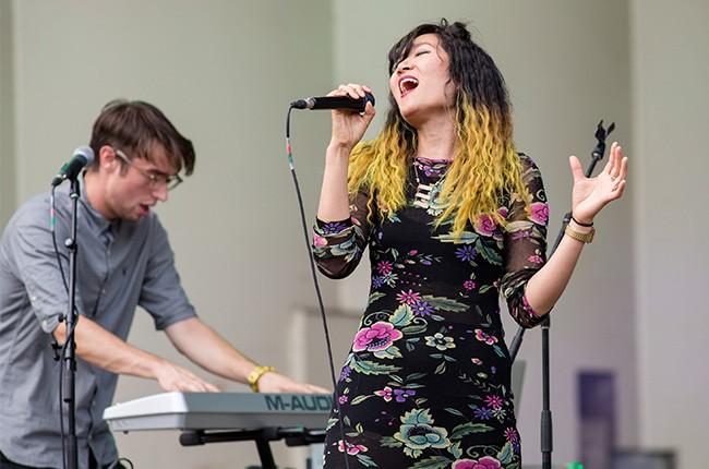 San Fermin perform at Lollapalooza 2014