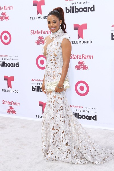 Santaye arrives at 2015 Billboard Latin Music Awards