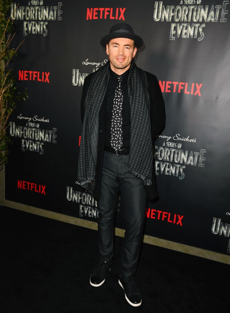 "Santiago Cruz attends the premiere of Netflix's ""A Series of Unfortunate Events"" at AMC Lincoln Square Theater on Jan. 11, 2017 in New York City."